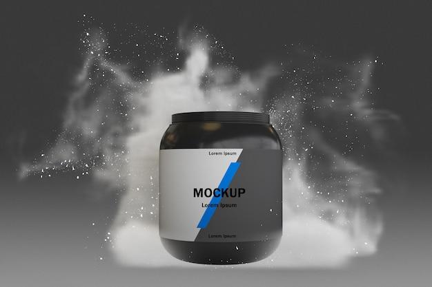 Supplementen splash concept mock-up