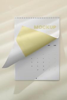 Surtido mínimo de maquetas de calendario