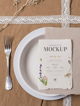 Surtido de tarjetas de boda