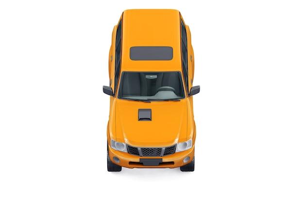 Suv 4x4 auto mockup