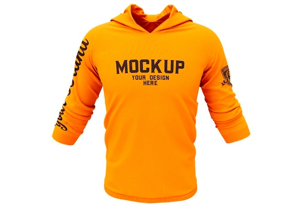 Sweatshirt hoodie mockup-ontwerp