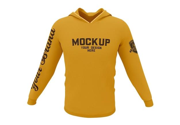 Sweatshirt met capuchon mockup