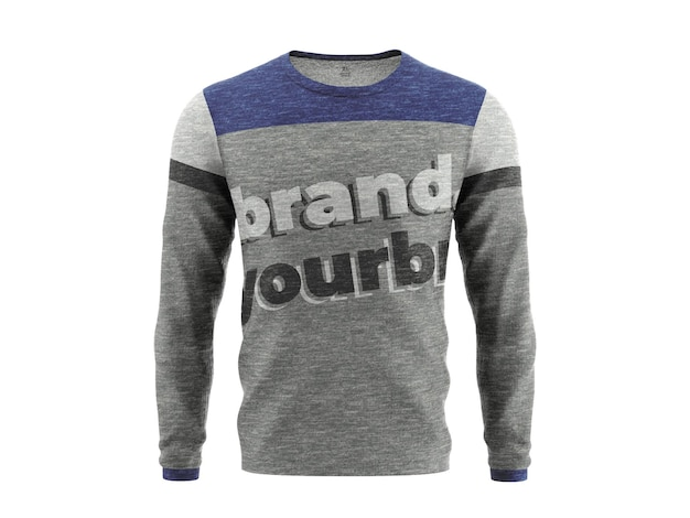 Sweatshirt mockup sjabloon