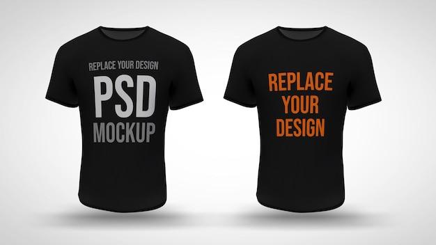 T-shirt 3d-rendering mockup ontwerp