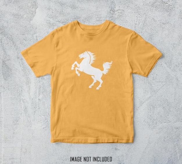 T-shirt mockup design rendering