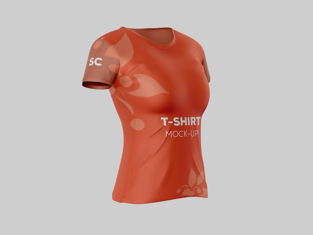 T-shirt mockup psd-bestand