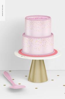 Taartstandaard met taartmodel