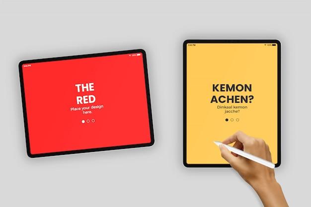 Tablet 11 inch mockup