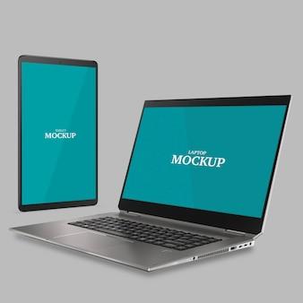 Tablet- en laptopmodel