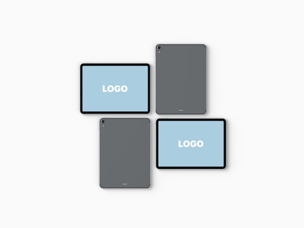 Tablet grid mockup vol.2