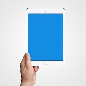 Tablet mock up di progettazione