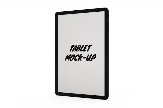 Tablet mock-up isolato