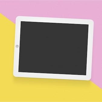 Tablet mock up modello