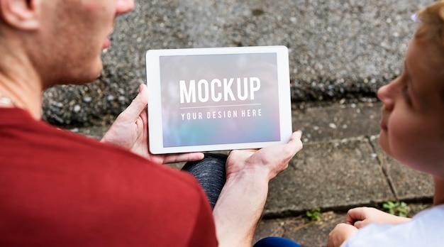 Tablet mock-up