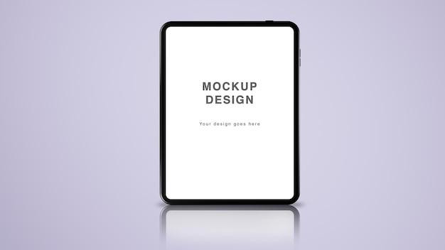 Tableta y pantalla - maqueta de ui ux