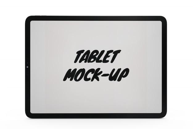 Tabletmodel geïsoleerd
