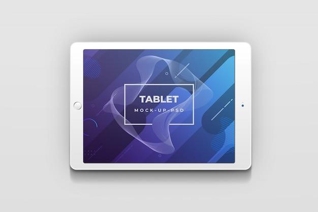 Tabletmodel voor app-presentatie