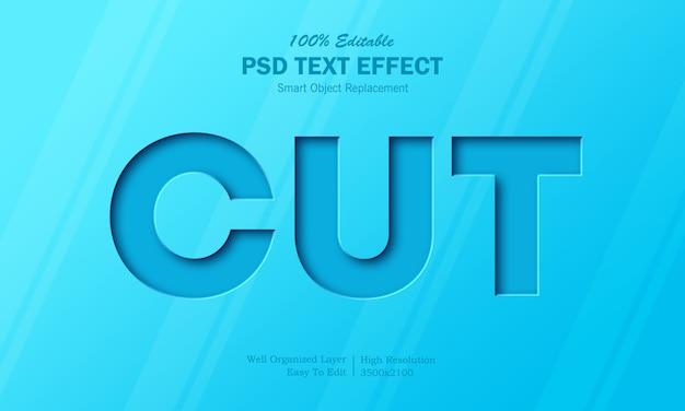 Taglia l'effetto del testo