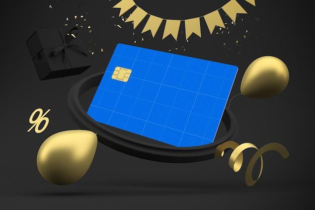 Tarjeta de crédito black friday