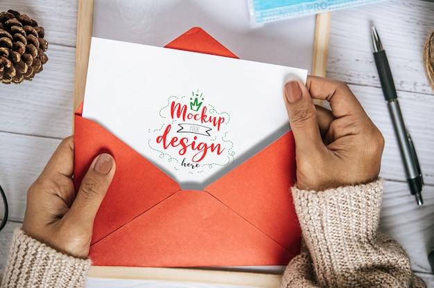 Tarjeta de felicitación de papel