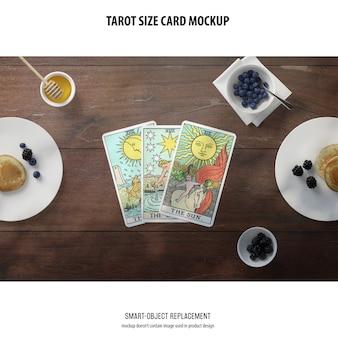 Tarot kaart mockup