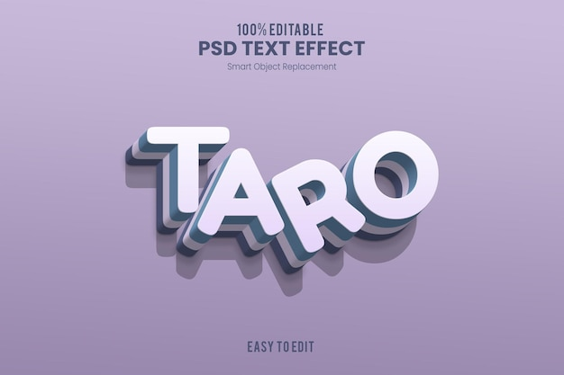 Tarotekst-effect