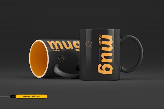 Taza de café. maqueta de taza