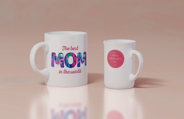 Taza del primer día de la madre