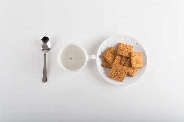 Tazza di caffè mock up di progettazione