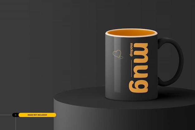 Tazza di caffè. mug mockup