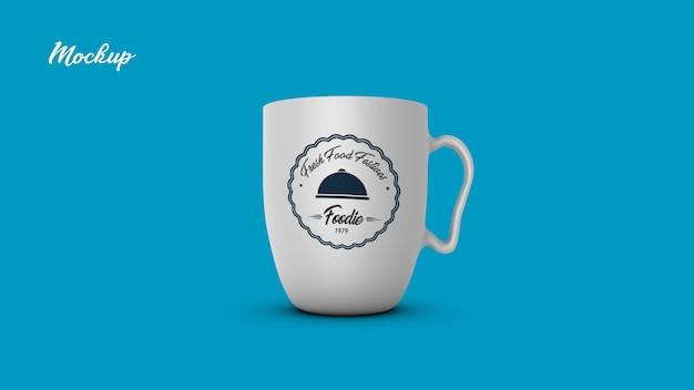 Tazza di tè tazza mock up