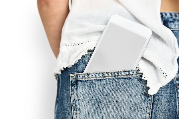 Tecnologia di comunicazione dello spazio della copia tascabile del telefono cellulare