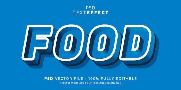 Tekst en lettertype effect bewerkbare stijlstijl