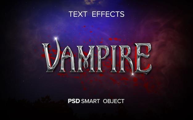 Teksteffect fantasiefilm Premium Psd