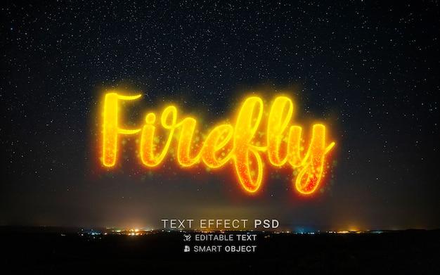Teksteffect met deeltjesontwerp