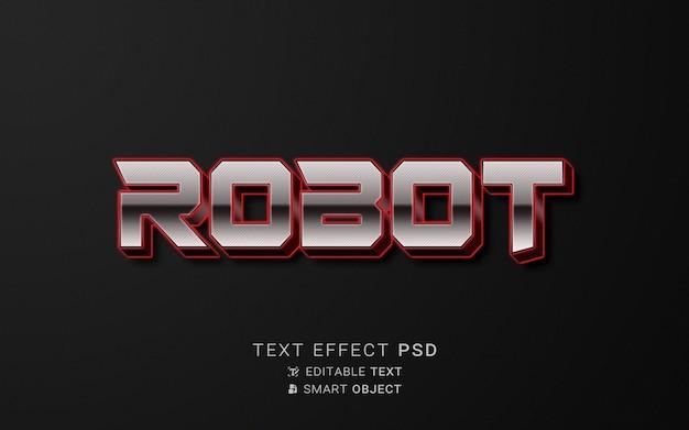 Teksteffect robotontwerp