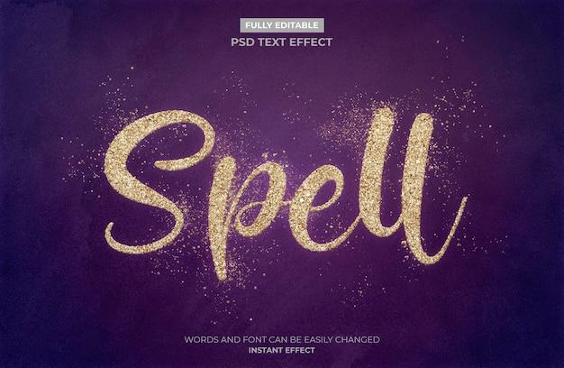 Teksteffect spellen