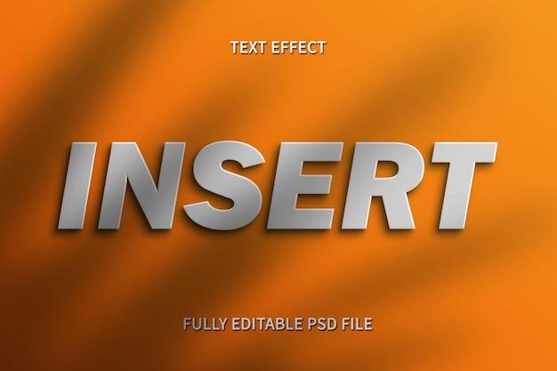 Teksteffect