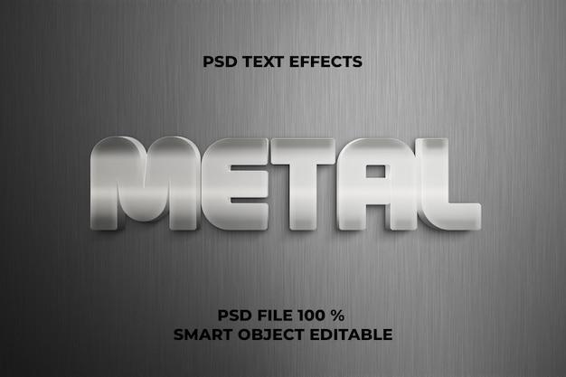 Teksteffecten metalen sjabloon