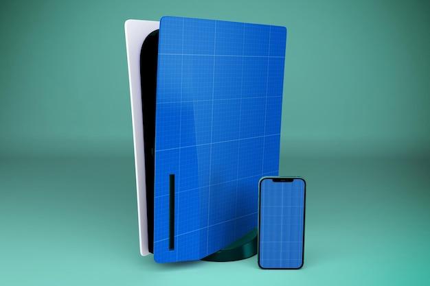 Teléfono inteligente y consola