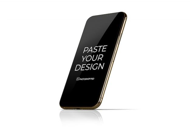 Teléfono móvil con maqueta de pantalla táctil