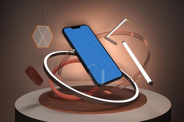 Telefoon 13 neon