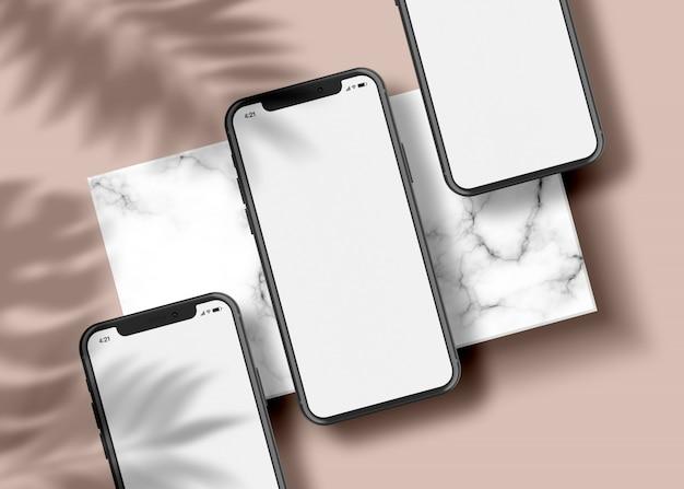 Telefoon - app-presentatie mock-up