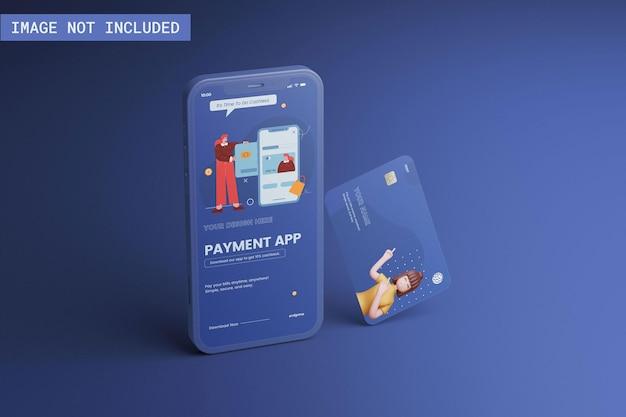 Telefoon- en creditcardmodel