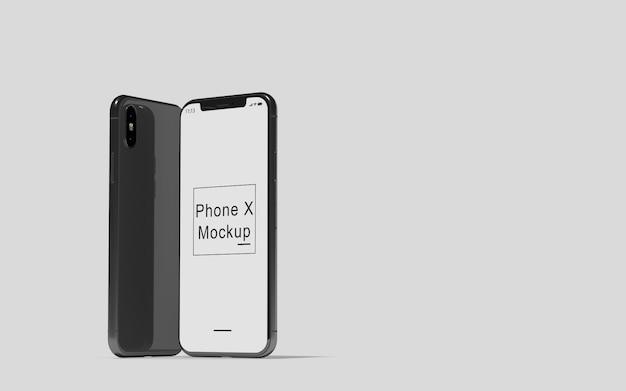 Telefoon x mockup