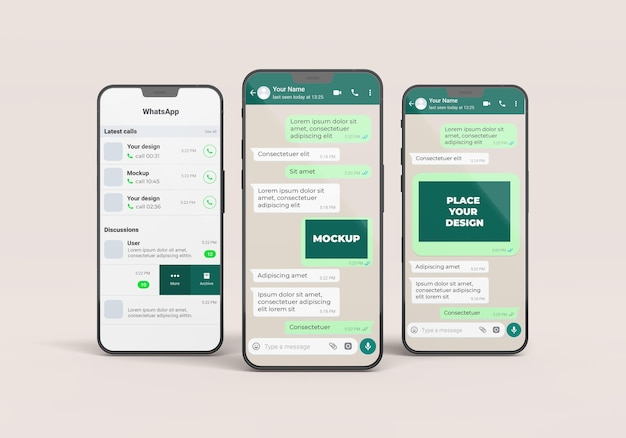 Telefoonarrangement chatmodel