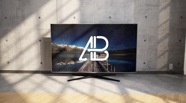 Televisie mock up