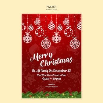Tema del cartel de navidad