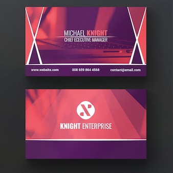 Tempalte aziendali business card