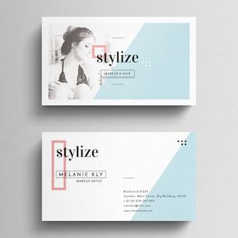 Tempalte pulito minimal business card